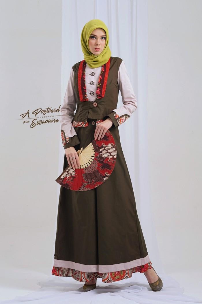 Jual Busana Muslim Gamis Pesta Long Dress Gamis Tuneeca T 0718035 Kota Bandung Rumah Tuneeca Tokopedia