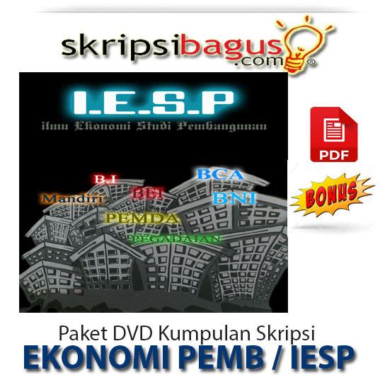 Jual Paket Dvd Kumpulan Skripsi Ilmu Ekonomi Studi Pembangunan