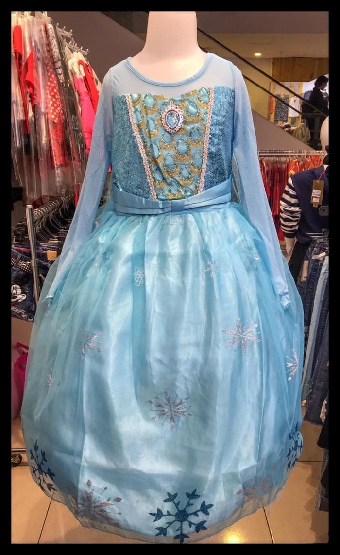 Jual Kostum Princes Ana Elsa Frozen Baju Dress Anak Biru Gaun Anak Import Jakarta Utara Marzia Shop44
