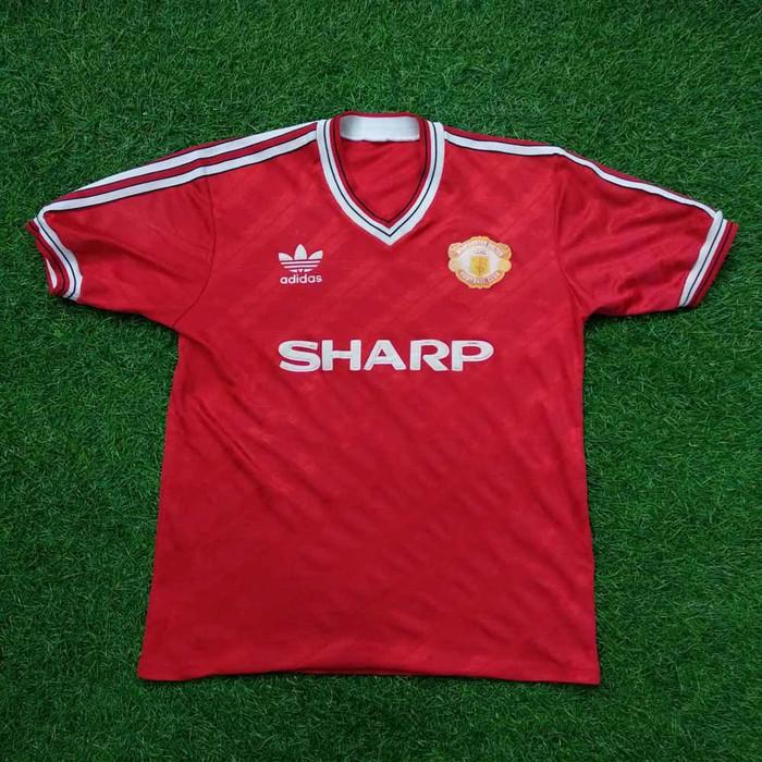 the best attitude 6413d 42950 Jual Original Jersey Manchester United 1990-92 Home Baju Bola Asli -  Jakarta Pusat - Jakarta Football Shop | Tokopedia