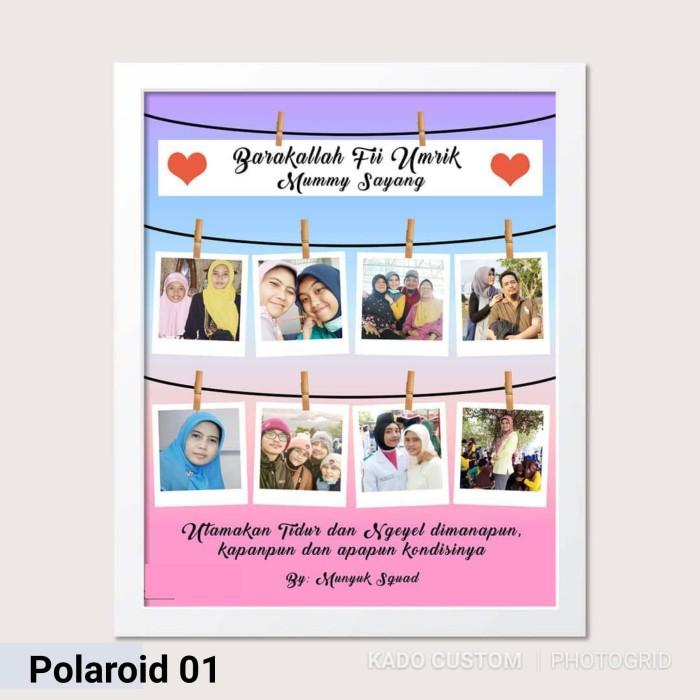 Jual Frame Kaca Cetak Desain Polaroid Foto Kado Custom Ulang Tahun Lucu Kab Tangerang Dp Shop20 Tokopedia