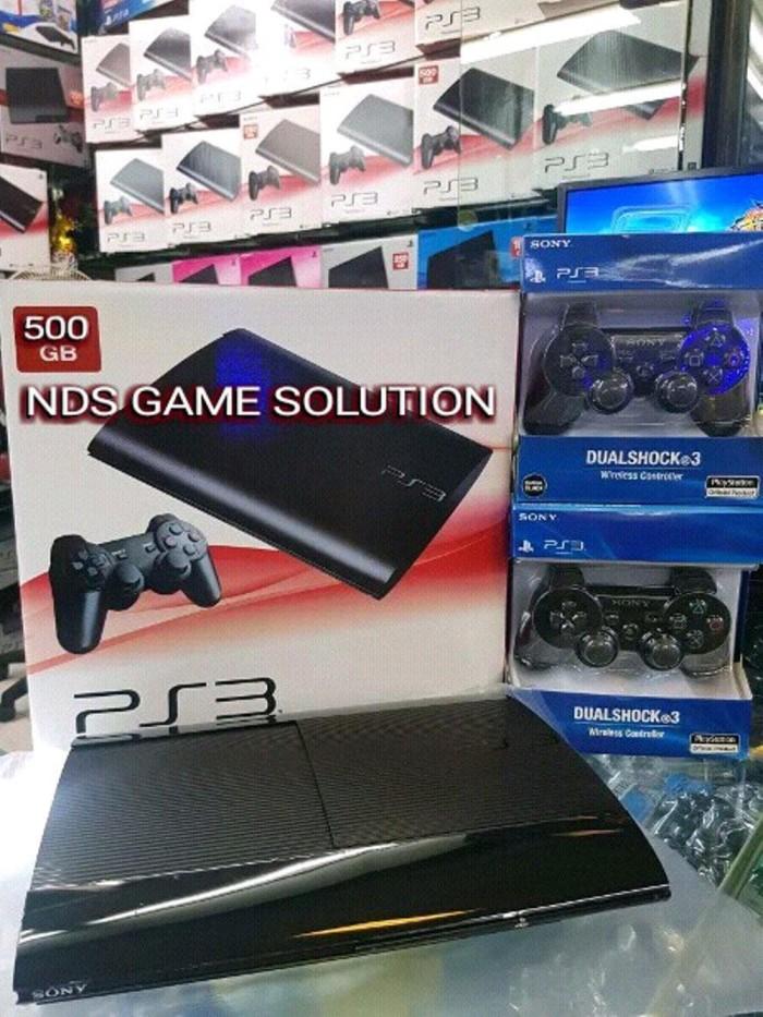 Jual Sony Playstation 3 atau Ps3 Super slim 500GB ofw Hen Bisa isi game -  Jakarta Barat - BigTime_Stuff   Tokopedia