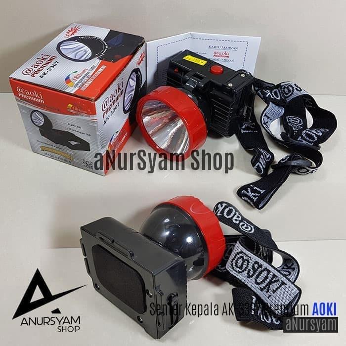 Senter Kepala AOKI Premium AK-3307