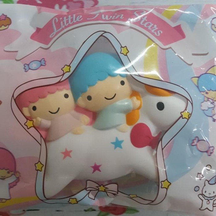 Little Twin Stars pink girl silica gel Key Met Protective Cover cute gift new