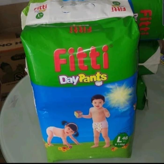 Fitti l 48 l48 day pants celana popok bayi ukuran l boy dan girl mura