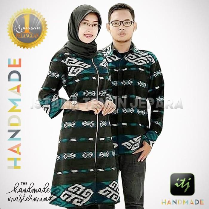 Jual Baju Batik Sarimbit Couple Tenun Blanket Troso Handmade Kab Jepara Istana Tenun Jepara Tokopedia