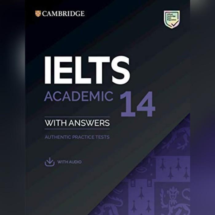 harga Buku cambridge ielts 14 academic with answer and cd Tokopedia.com