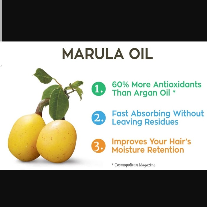 Foto Produk Marula Seed Oil 5ml/Carrier Oil/Cold Preseed dari Syah-House