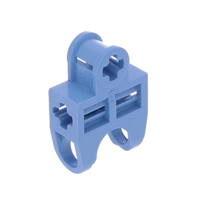 LEGO 15 x Black Technic Connector End Cap with Axle Hole