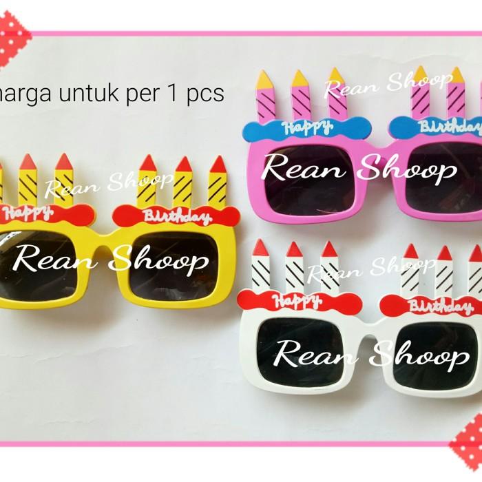 harga Kacamata kaca mata gaya lucu photobooth happy birthday ulang tahun Tokopedia.com