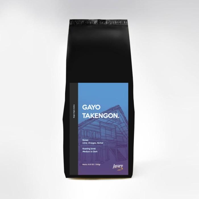 Foto Produk Arabica Gayo Javaro Coffee 250gr (Bean/Bubuk) dari Javaro Coffee Shop