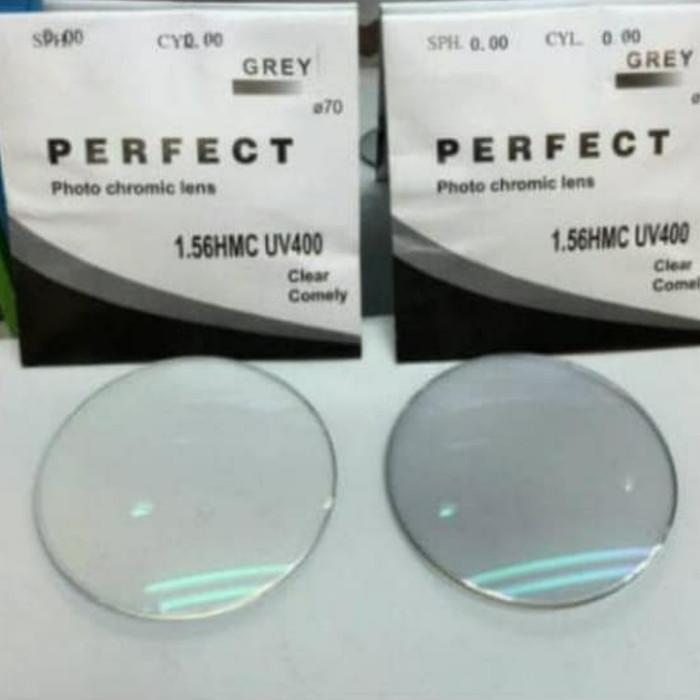 Foto Produk Lensa Photocromic Grey Transition Berubah Warna dari DBStoreS