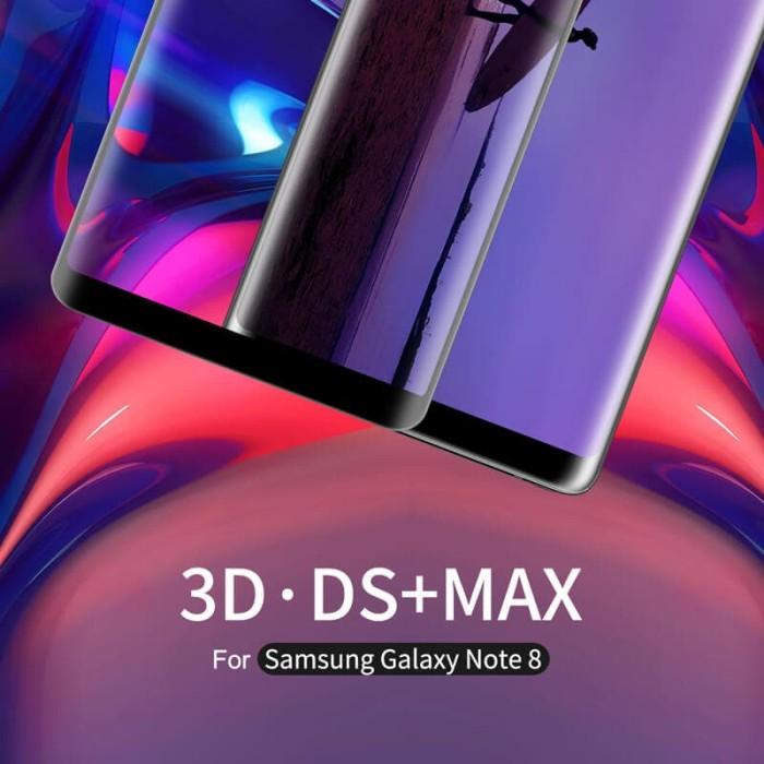 harga Samsung galaxy note 8 nillkin original 3d ds+ max tempered glass Tokopedia.com