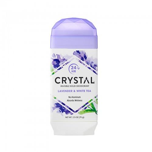 Foto Produk Crystal Body Deodorant, Natural Deodorant, Lavender & White Tea (70 g) dari Nourish Indonesia
