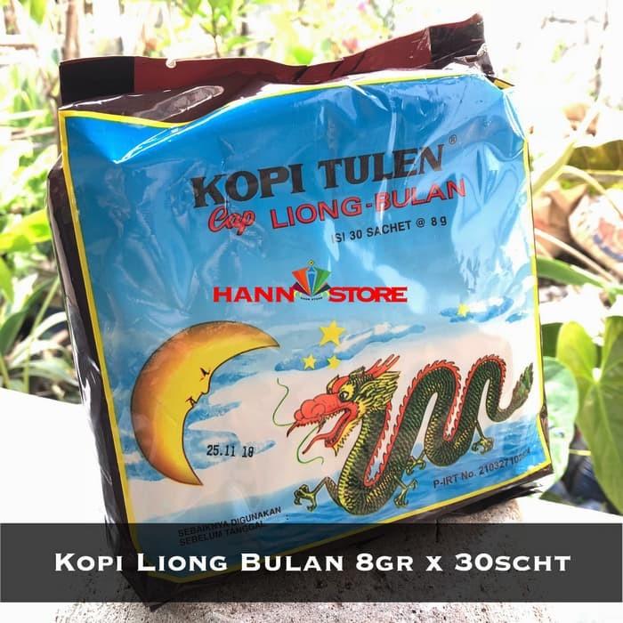 Foto Produk Kopi Liong Bulan , Kopi Tanpa Gula, 8gr x 30scht. Kopi Legend Bogor. dari Hann Store