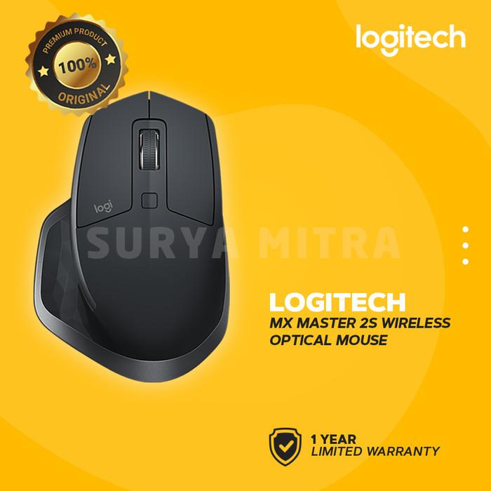 Foto Produk Logitech MX Master 2S Wireless & Bluetooh Mouse dari Surya Mitra Online