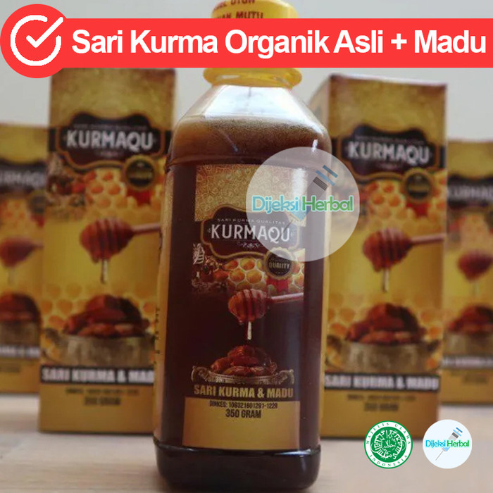 Foto Produk Sari Kurma Kurmaqu Di Kab. Deli Serdang SUMUT 100% Produk Original dari Dijeksi Herbal