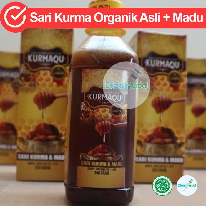 Foto Produk Sari Kurma Kurmaqu Di Kab. Langkat SUMUT 100% Produk Original dari Dijeksi Herbal