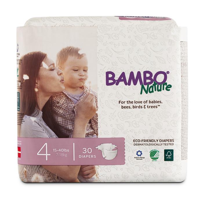 harga Bambo nature maxi 4 popok perekat berat badan 7-18kg (30 pieces) Tokopedia.com