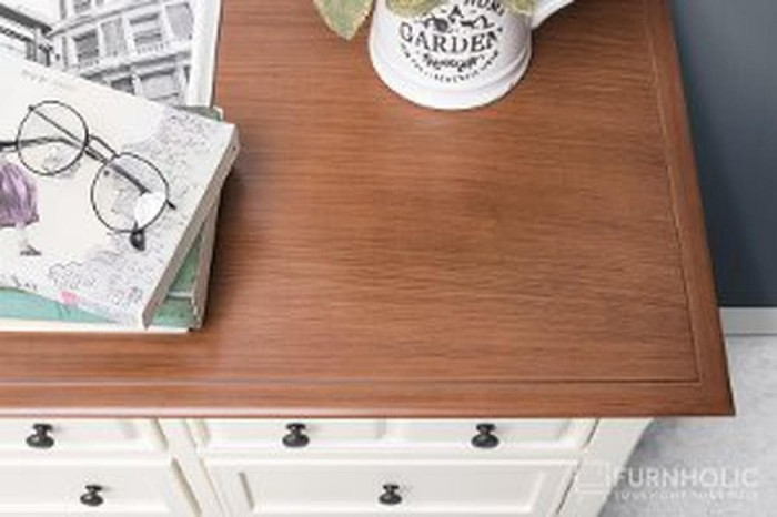 Foto Produk iFURNHOLIC Alfonso Wide 12 Drawers - Furniture Lemari Penyimpa Limited dari Yusriadi Galery