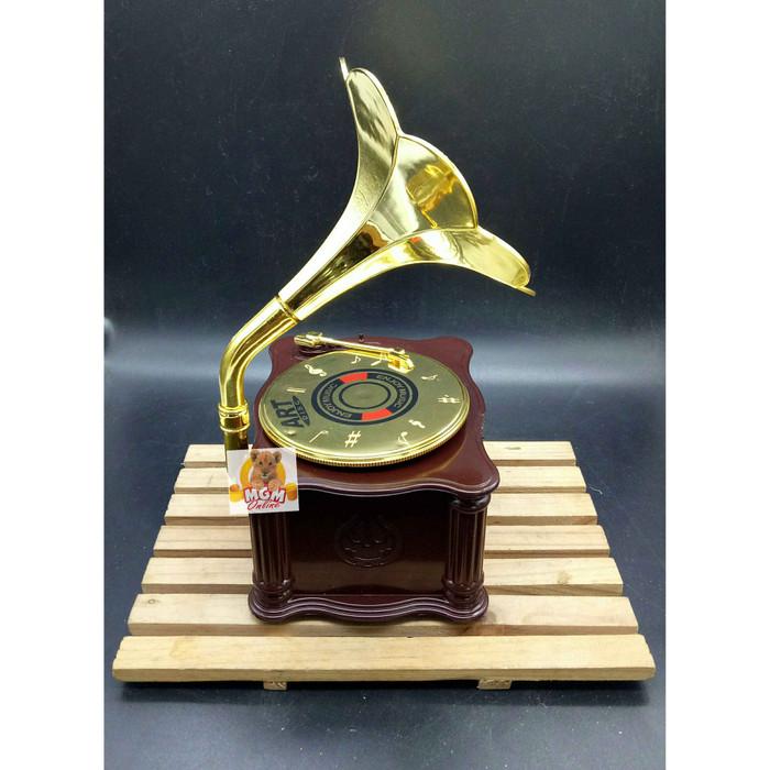 harga Kotak perhiasan black disc / kotak musik / jewelry music box 9097 Tokopedia.com