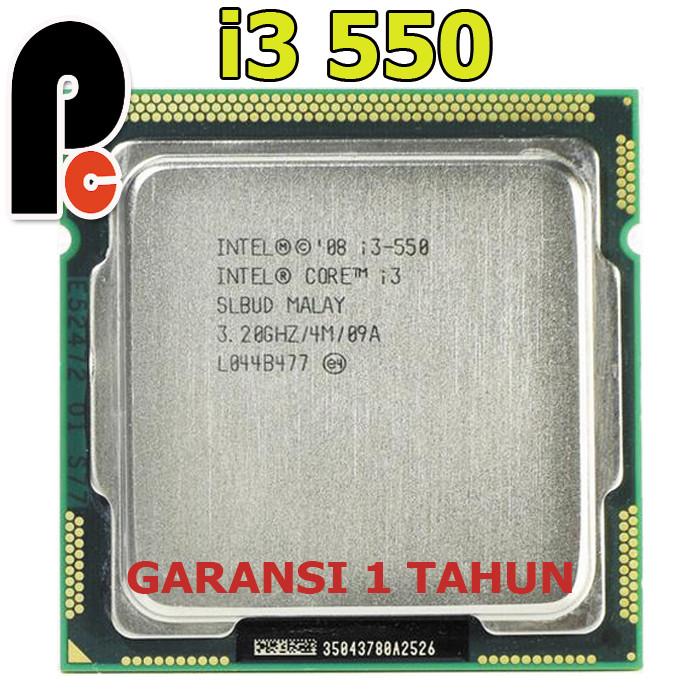 Intel Core i3-550 3.20GHZ Socket LGA1156 SLBUD