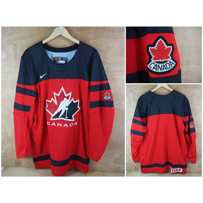 Foto Produk Jersey Hockey Team Canada Nike Twill Original dari Serba Original