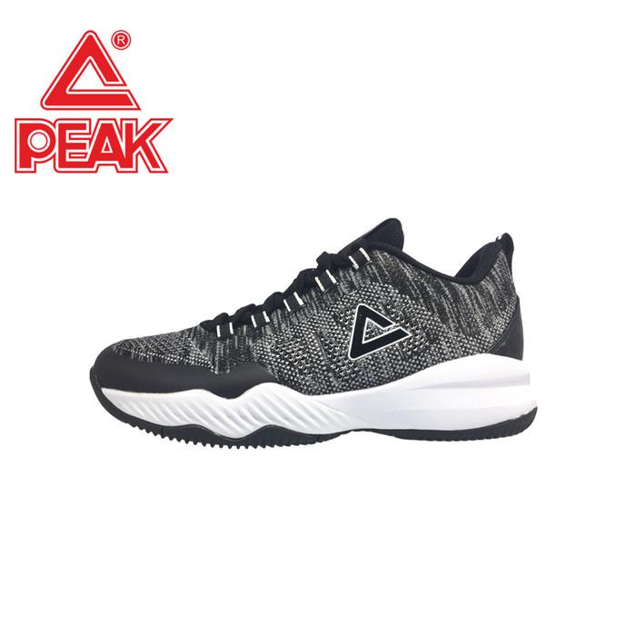 Peak Sepatu Basket Peak Terrence Romeo 2 - Ew8207a B White Dan Navy - Hitam 44