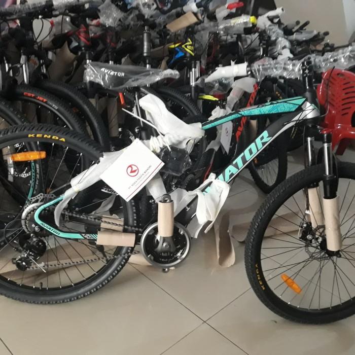 Jual sepeda gunung mtb 27.5 aviator 2692 rs shimano