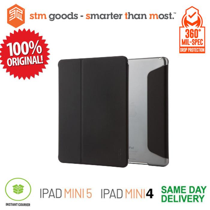 harga Ipad mini 5 (2019) / ipad mini 4 stm studio folio - black (original) Tokopedia.com