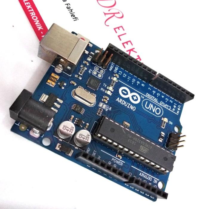 Jual Arduino Uno R3 Atmega328 DIP atmega 328 clone driver CH340 tanpa kabel  - Kota Depok - DR ELEKTRONIK DEPOK | Tokopedia