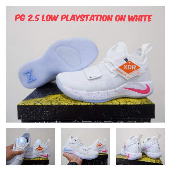new arrival c921b 8a607 Jual Nike Paul George 2.5 PG2.5 Low Playstation ON WHITE Sepatu & Sneakers  - Kota Batam - Rupa Rupane | Tokopedia