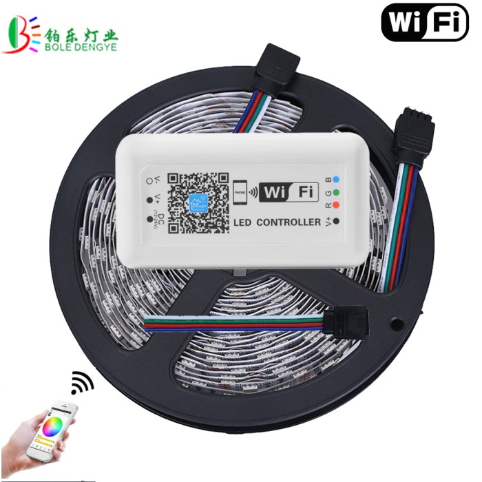 Jual Promo 15m Wifi Led Strip 5050 Non Waterproof 60led M Magic Home Wifi Jakarta Barat Bellemrkt Tokopedia
