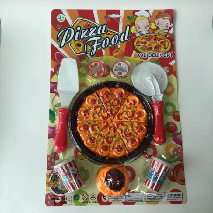 Jual Mainan Masak Anak Pizza Jakarta Utara Abangmainan21 Tokopedia