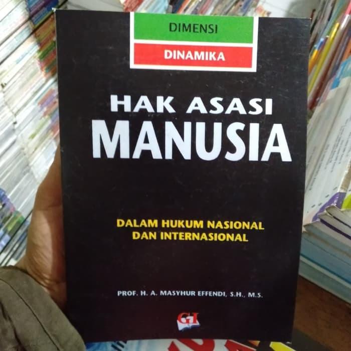 Buku Lingkungan Hidup Hak Asasi Manusia - Masyhur Effendi