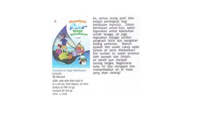 Jual Buku Lingkungan Hidup Rosda Manfaat Air Bagi Kehidupan Jakarta Barat Edo Edoa Tokopedia