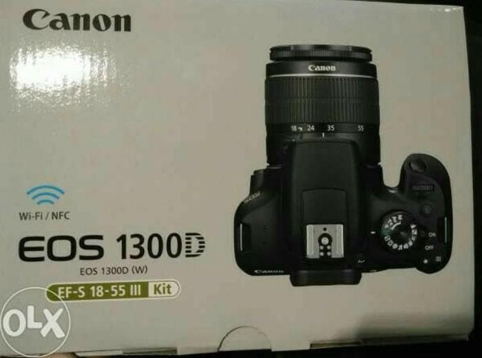 Jual Terbaru Kamera Canon 1300d Kit 18 55 Is Iii Jakarta Pusat Elganurhikmah Tokopedia