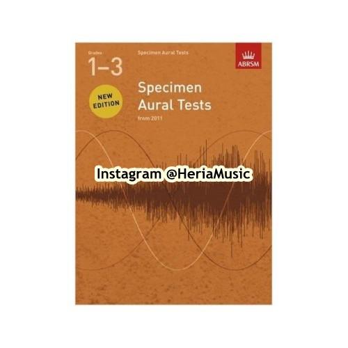 Foto Produk ABRSM Specimen Aural Tests Grade 1-3 dari HERIA MUSIC
