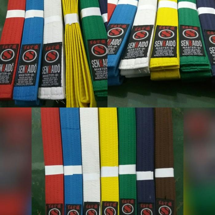 Foto Produk sabuk karate senkaido obi kyu kempo jutsu dari 2V Online Shop