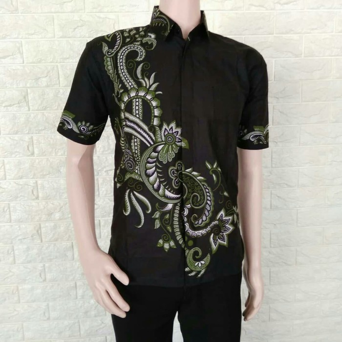 Jual Model Baju Batik Modern Kemeja Pria Kemeja Batik Murah Batik Kerja Hijau M Kota Yogyakarta Grosir Kemeja Batik Pria Tokopedia