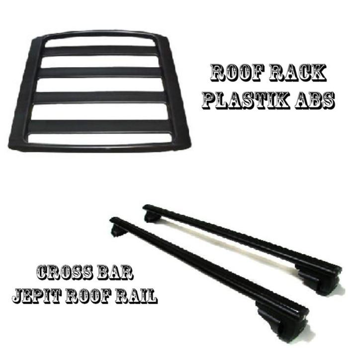 harga Roof rack & cross bar model jepit roof rail toyota rush Tokopedia.com