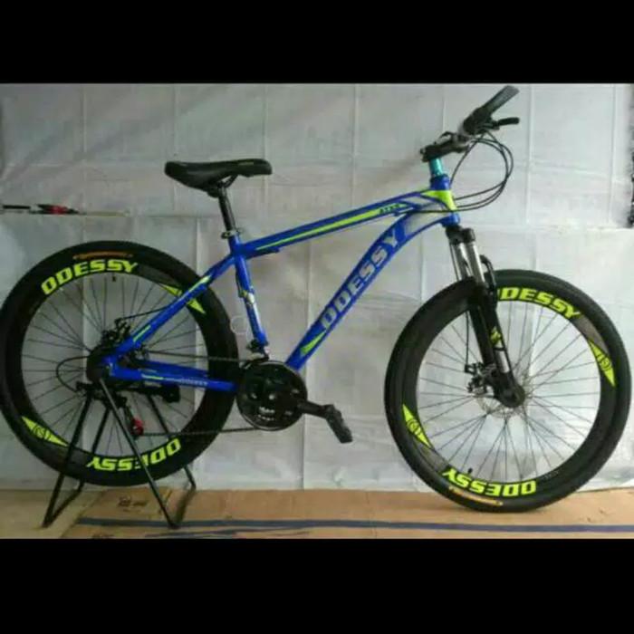 harga Termurah!!! sepeda gunung mtb 26  odessy atxs frame alloy Tokopedia.com