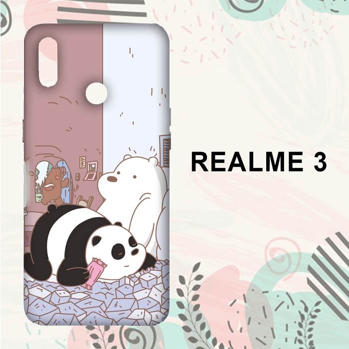 Jual Casing Realme 3 Hardcase Hp We Bare Bears Funny L0072 Kota Semarang Unicorncase Tokopedia