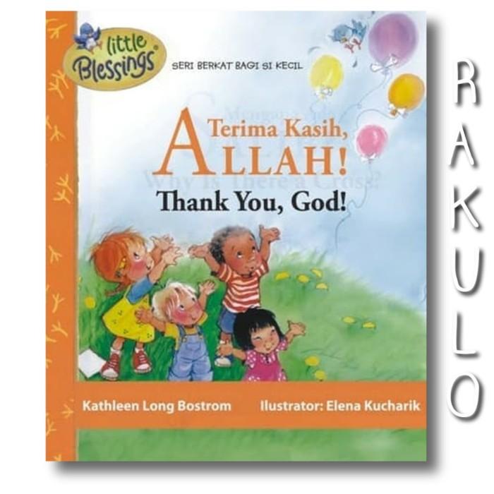 Jual Buku Terima Kasih Allah Thank You God Bilingual Jakarta Barat Rakulo Tokopedia