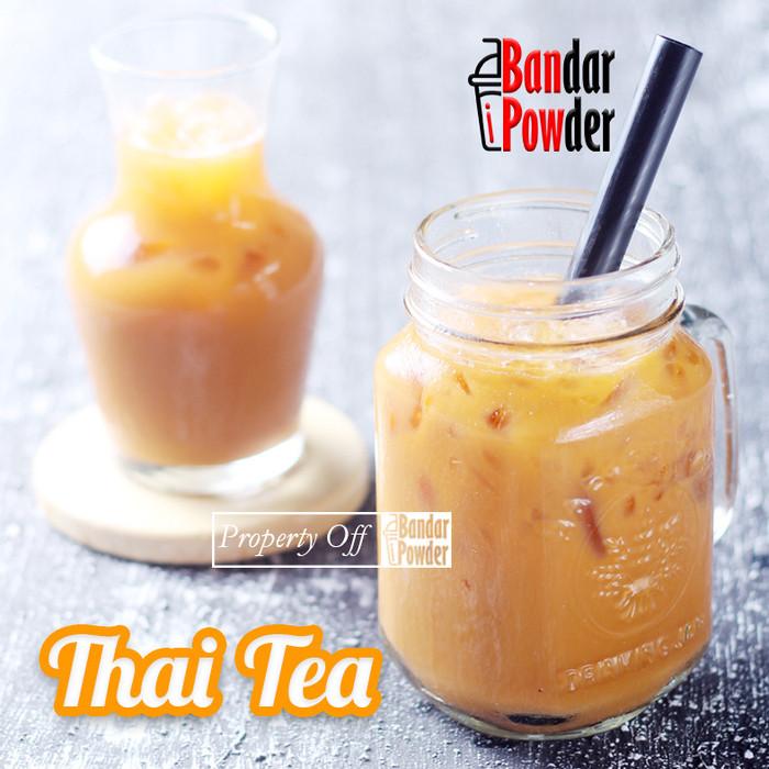 Foto Produk Bubuk Thai Tea 1kg - Serbuk Minuman Teh Thailand - Bandar Powder dari Bandar Powder