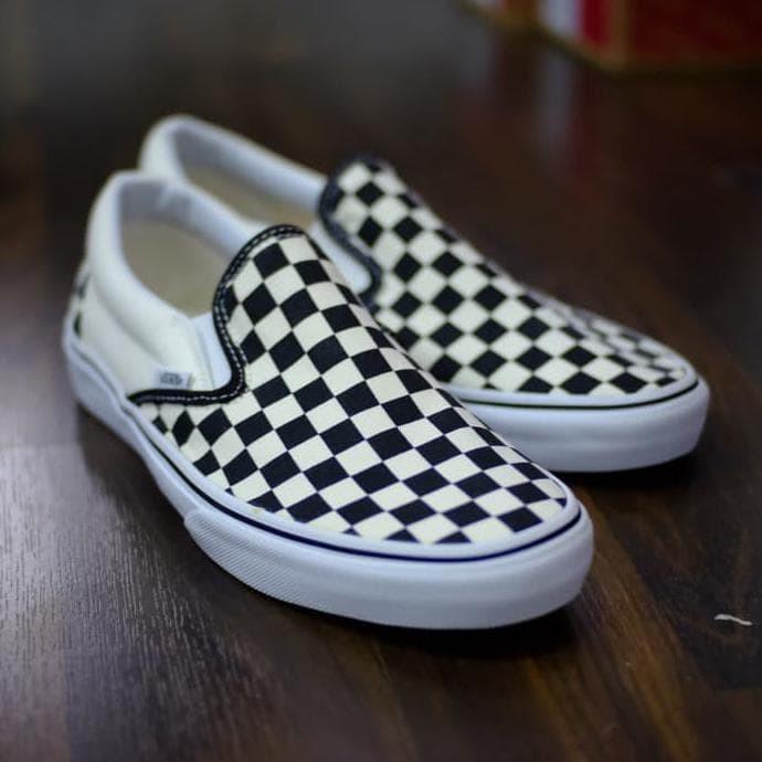 Jual Vans Slip On Checkerboard Original