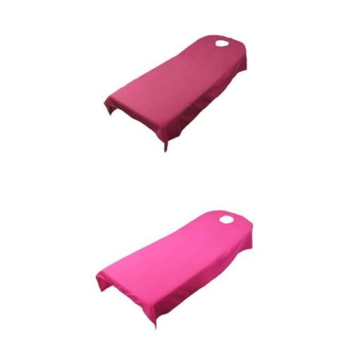 Jual Massage Bed Cover Table Plinth Treatment Sheet With Hole Rose