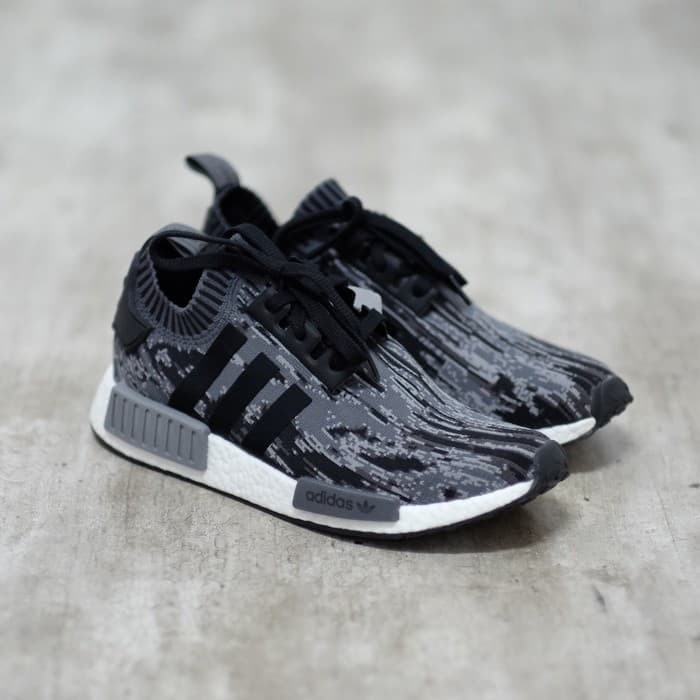 low priced 8a11d b0cde Jual Adidas NMD R1 Grey Three 100% Original - Kota Bandung -  QueenS_shoes.id | Tokopedia