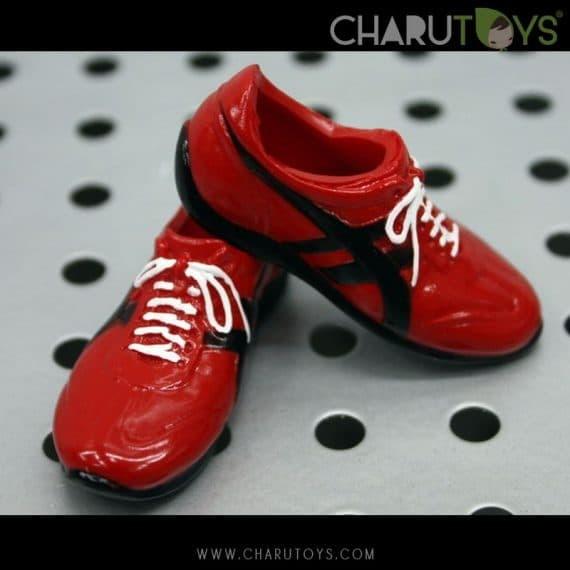 Foto Produk 1/6 Scale Sport Onitsuka Shoe Red shoes dari Charu Toys