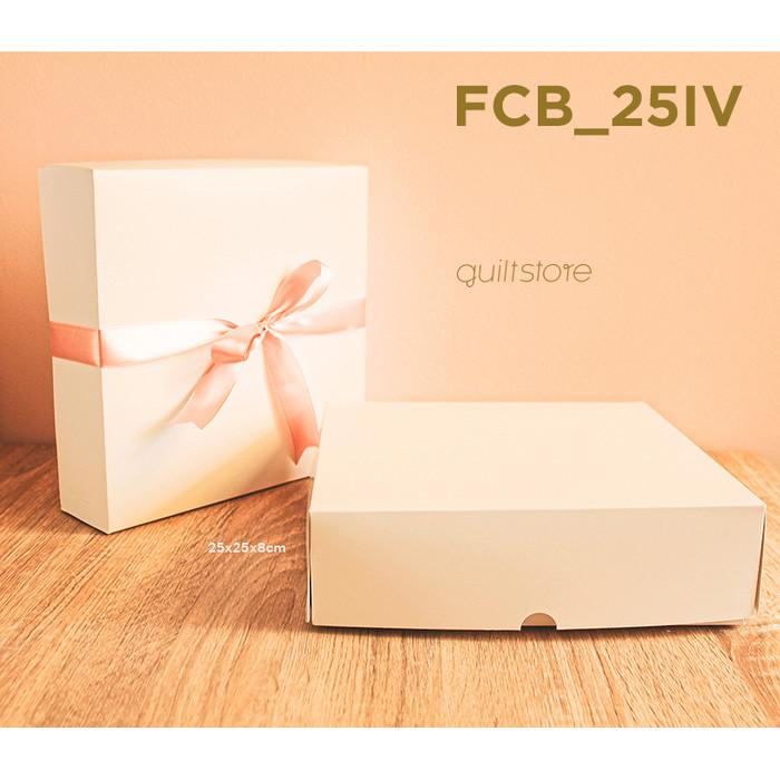 Foto Produk Kotak Kue/Makanan/Hadiah Multifungsi 25cm dari GUILT STORE